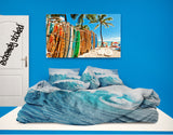 ocean wave photo bedding from surfer bedding extremely stoked