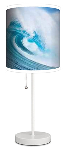 OCEAN WAVE SURF LAMP FROM EXTREMELY STOKED SURFER BEDDING