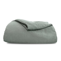 Grey Hemp Duvet Cover