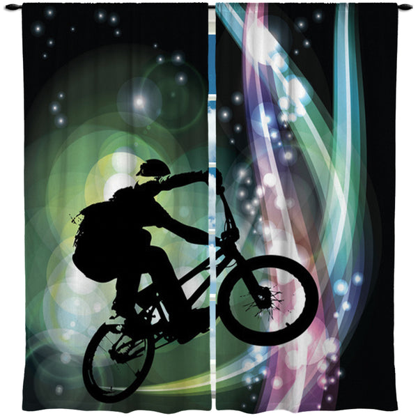 BMX WINDOW CURTAINS IN THE FLOW FROM EXTREMELY STOKED