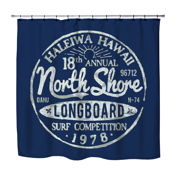 BLUE NORTH SHORE SHOWER CURTAIN