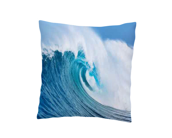OCEAN WAVE THROW PILLOW COVER