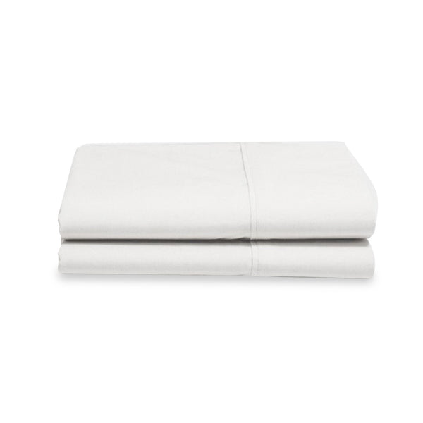 Organic Cotton White Pillowcases