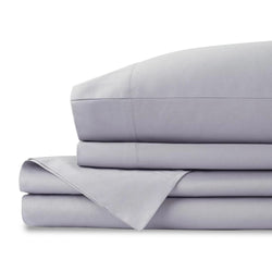 GRAY ORGANIC COTTON SHEETS QUEEN SIZE