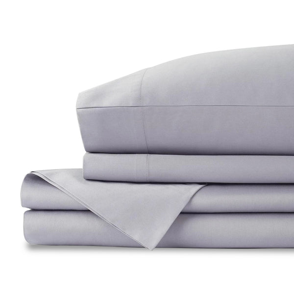 Organic Cotton Grey Queen Sheet Set