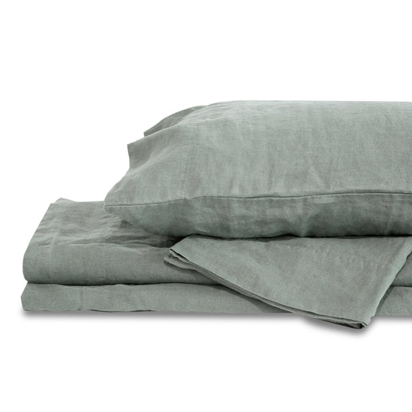Light Grey Hemp Sheet Set