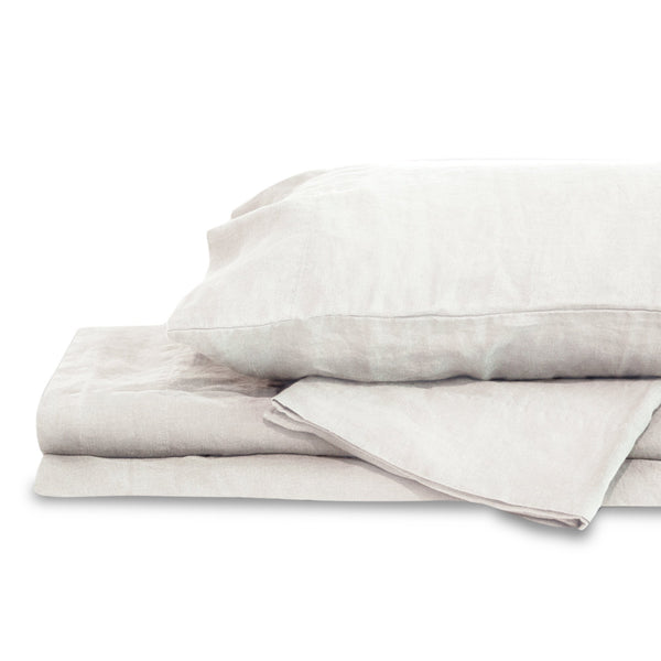 White Hemp Sheet Set