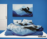 Snowmobile Comforter Set from Extremely Stoked
