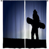 SNOWBOARD WINDOW CURTAINS FROM EXTREMELY STOKED