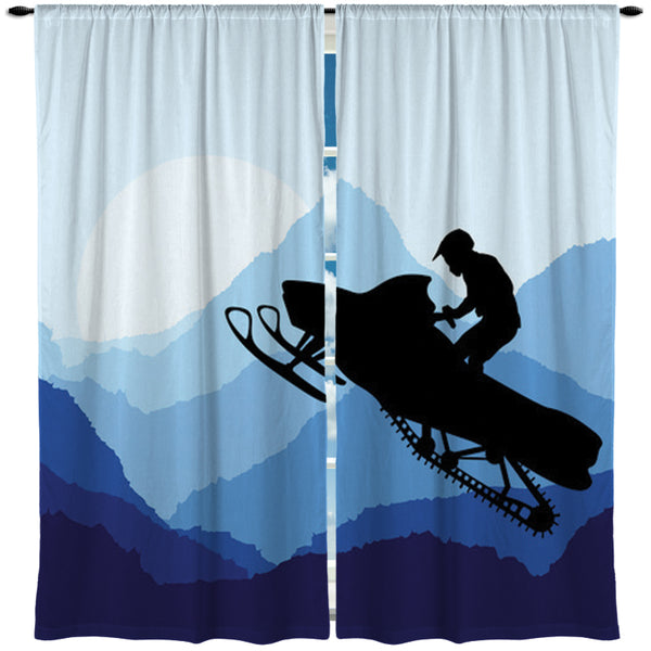 SNOWMOBILE WINDOW CURTAINS