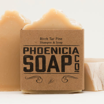 Birch Tar Pine Shampoo & Soap