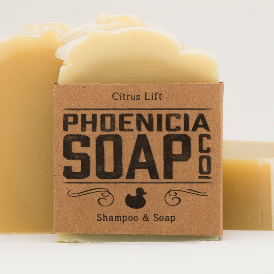 Citrus Lift Shampoo & Soap