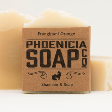 Frangipani Shampoo and Soap Bar