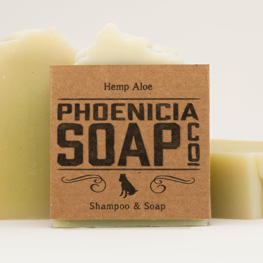 Hemp Aloe Shampoo & Soap