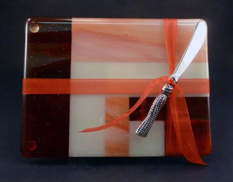 Cheese Tray in Red Wisp / Almond