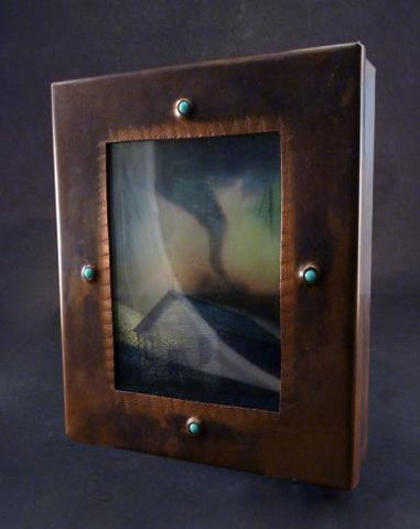 House Twister Changeling Copper Reliquary Box