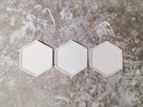 Simple Hexagon Dish