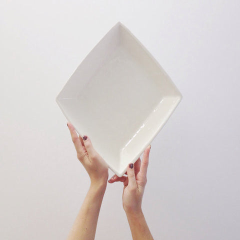 Diamond Serving Dish
