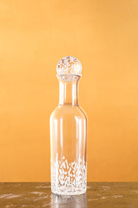 Small Glass Carafe with Glass Ball Stopper