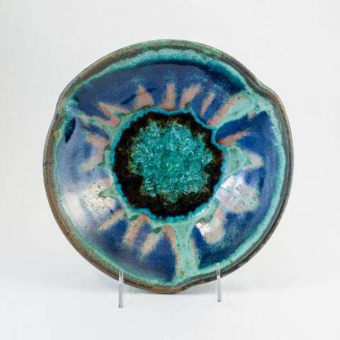 3-Pinch Bowl w/ Glass