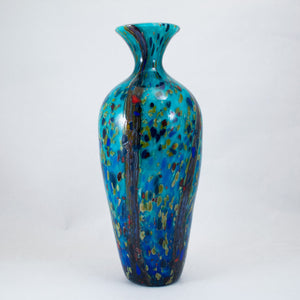 Medium Amphora Vase in Ocean Forest - Reactive Series