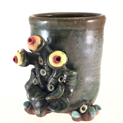 Three Eyed Creature Cup
