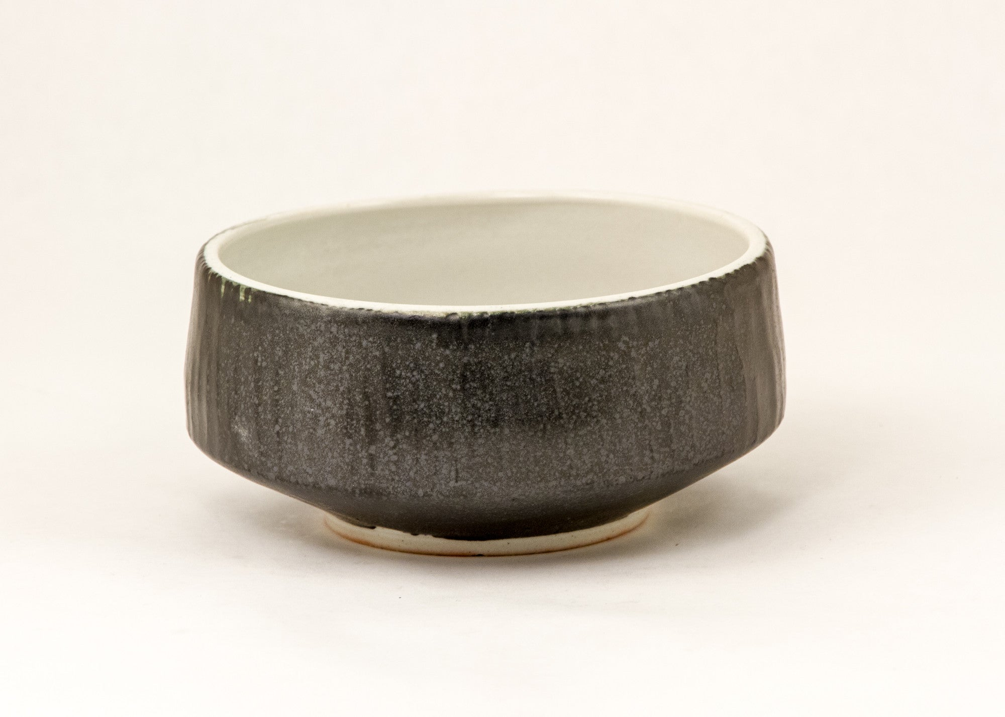 Black and White Small Serving Bowl
