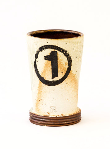 Tumbler with Number 1