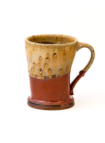 Copper and Tan Mug