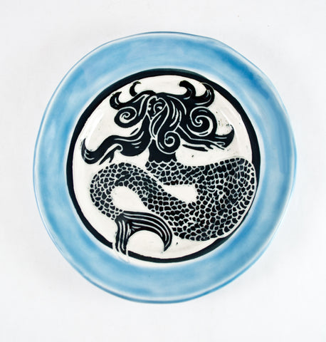 """Mermaid"" Plate"