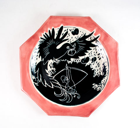 """Gaurding The Magic Apples"" Plate"