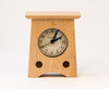 Mantel Arts & Crafts Clock in Assorted Woods