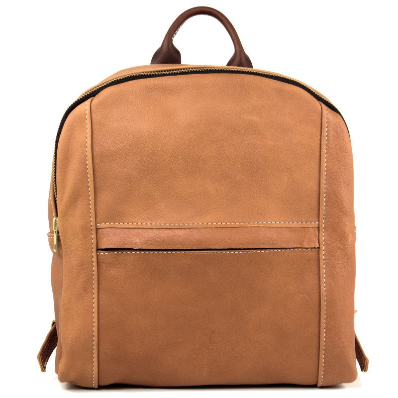The Backpack in Caramel