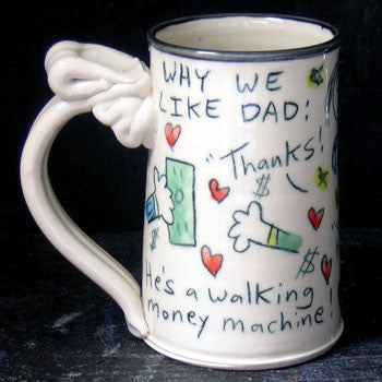 Why We Like Dad Mug