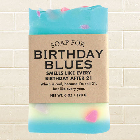 Whiskey River Soap - Birthday Blues Soap