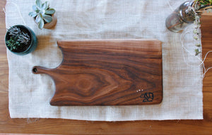 Maeve Walnut Wood Board - 10 x 20
