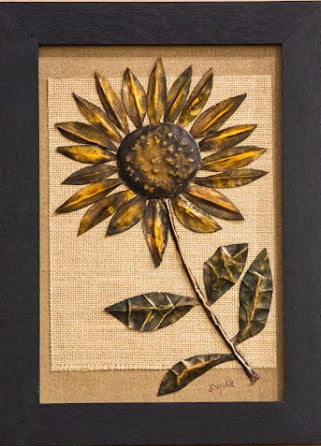 Single Copper Sunflower