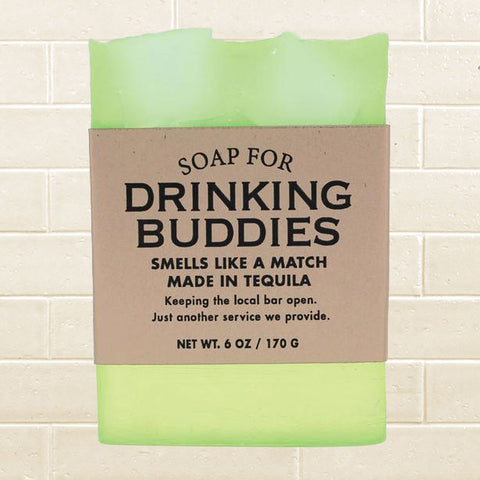 Whiskey River Soap - Drinking Buddies Soap
