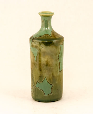 Blair Pottery - Bottle - Green no. 2