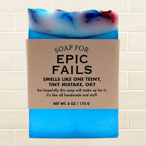 Whiskey River Soap - Epic Fails Soap