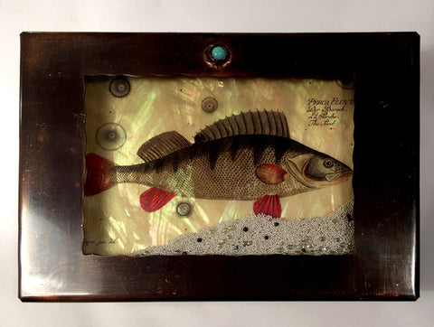 Medium Fish Reliquary Box