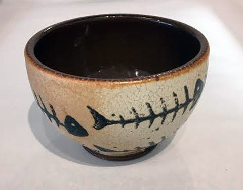 Small Fish Bone Bowl