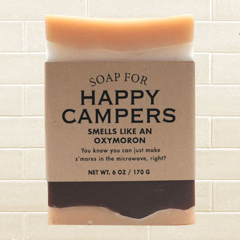 Whiskey River Soap - Happy Campers Soap
