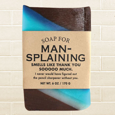 Whiskey River Soap - Mansplaining Soap