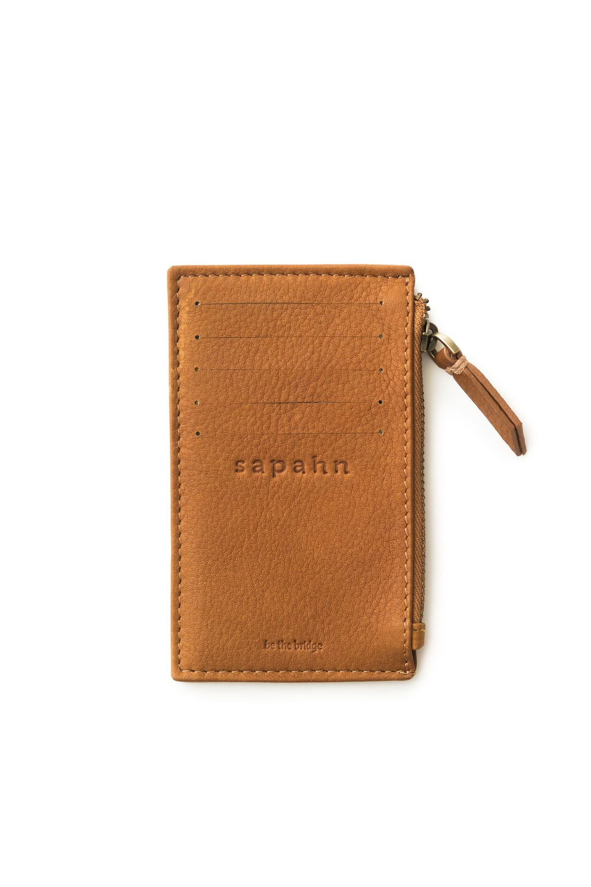 Emma Card Holder (Whisky Raw Leather)
