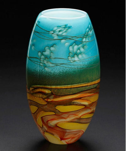 Fields and Fields Blown Glass - Vase