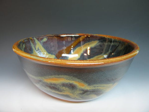 Small Deep Bowl in Goldstone