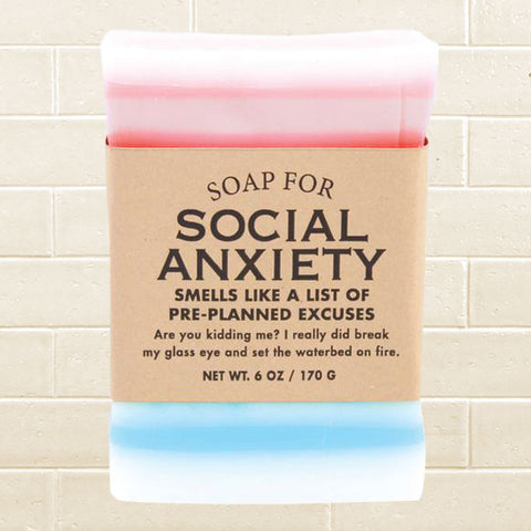Whiskey River Soap - Social Anxiety Soap