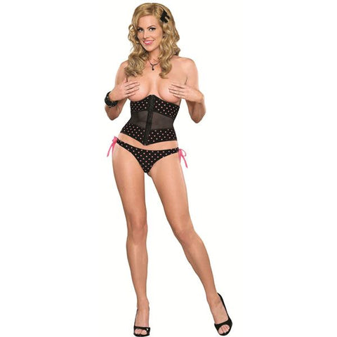Magic Silk - Carnival - Waist Cincher & Tie Side Panty (S/M)