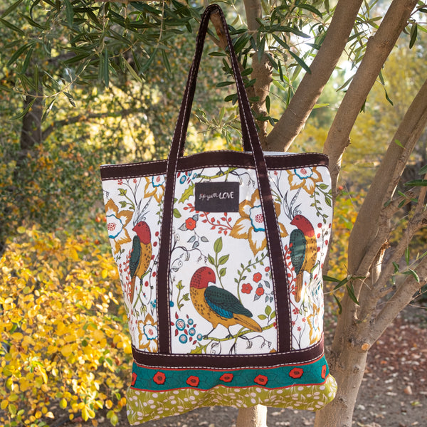 """Garden Song"" Tote Bag"